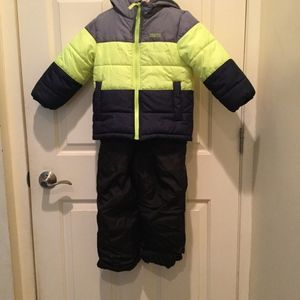 OshKosh B'gosh coat & ZeroXposure snowsuit S-4